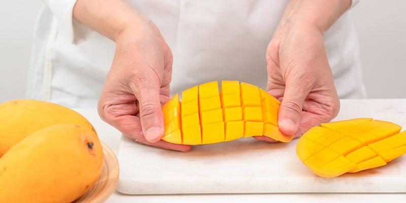 invert the mango